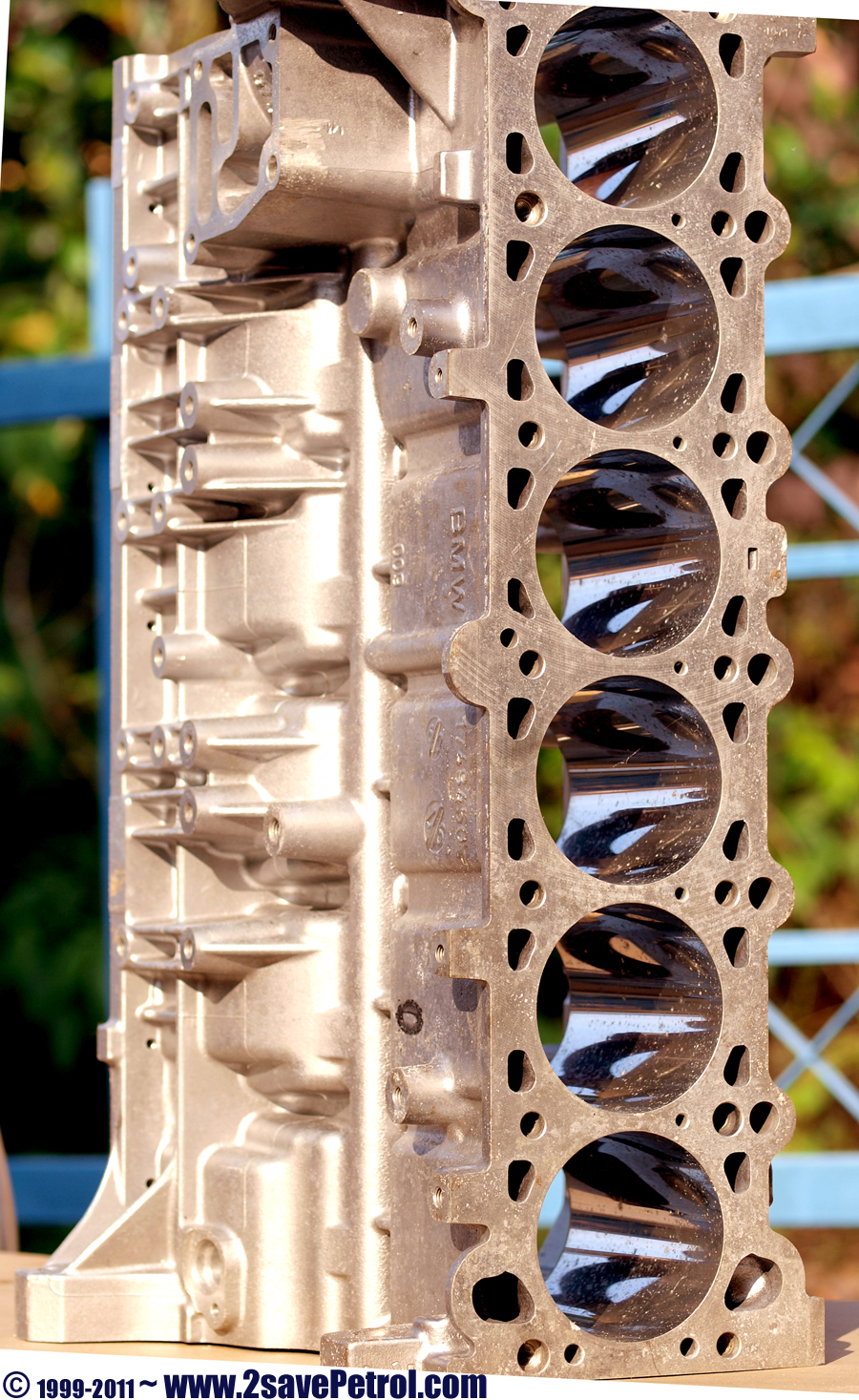 wear free BMW engine's cylinder block