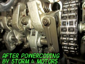 Процесс STORM' ZERO PowerCoding очистка двигателя